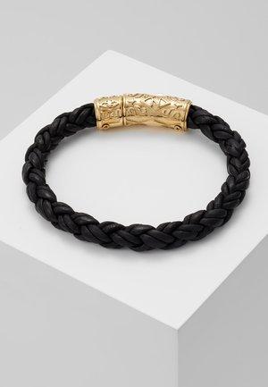 BRAIDED LOCK IN  - Náramek - black
