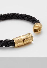 Nialaya - BRAIDED LOCK IN  - Bracelet - black - 4