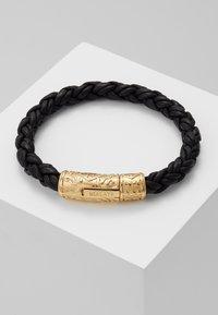 Nialaya - BRAIDED LOCK IN  - Bracelet - black - 2