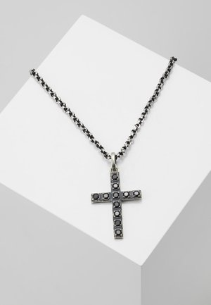 PENDANT CROSS - Ketting - silver-coloured