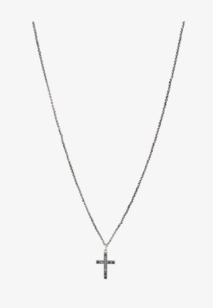 PENDANT CROSS - Necklace - silver-coloured