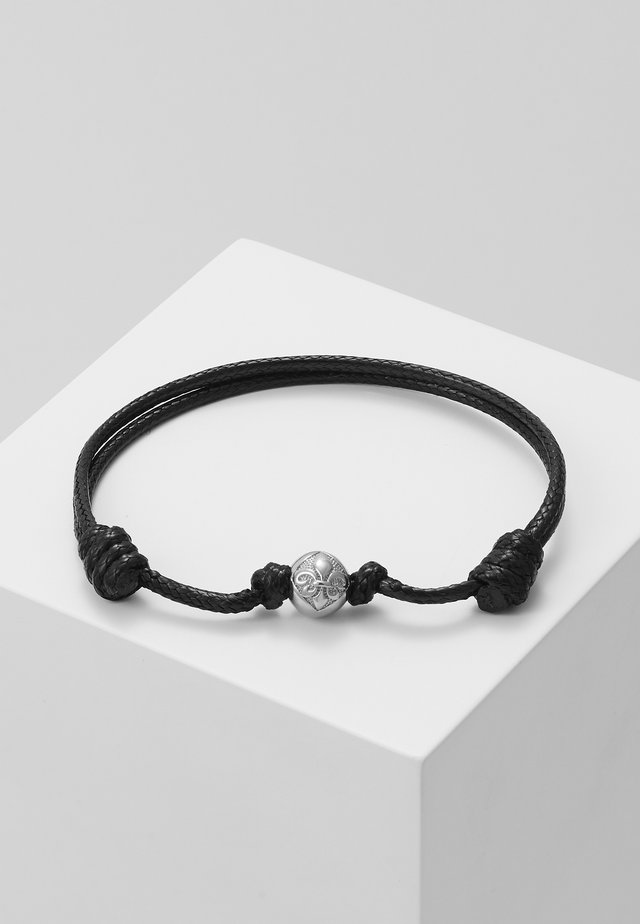 Bracelet - black/silver-coloured