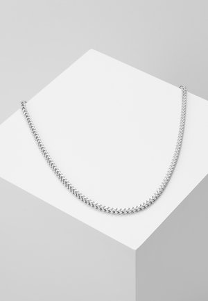 SQUARED CHAIN - Smykke - silver-coloured