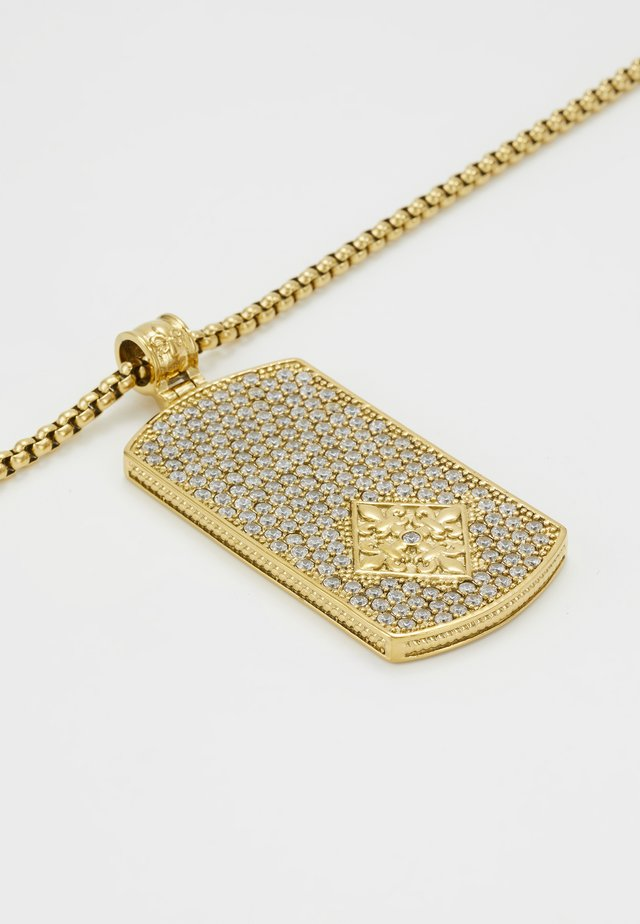 Necklace - gold-coloured/silver-coloured