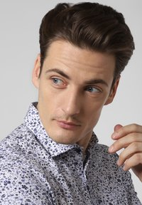 Nils Sundström - Shirt - white/blue - 2