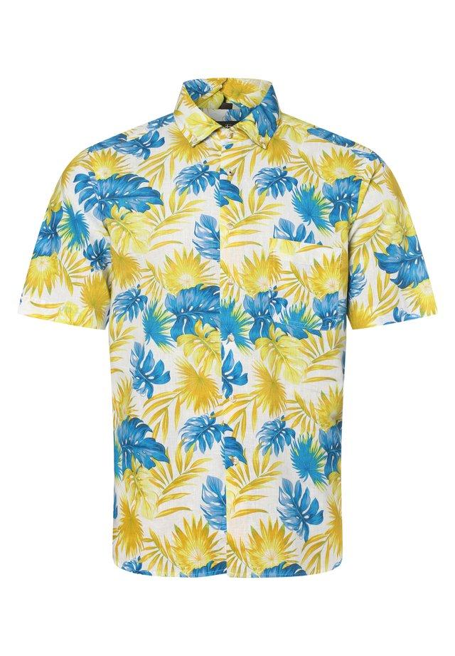 Shirt - gelb blau