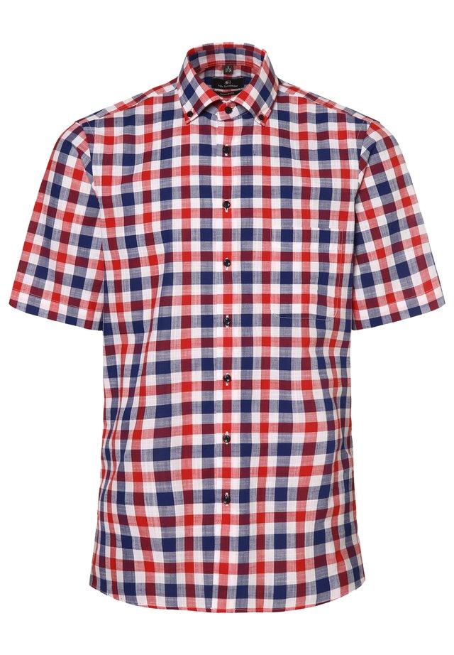 Shirt - marine/rot