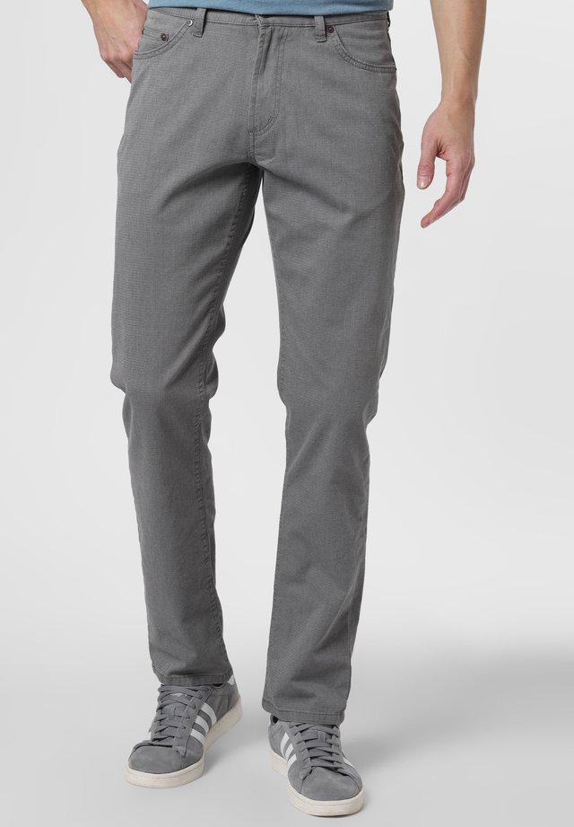 HOSE SPIETH - Trousers - grau