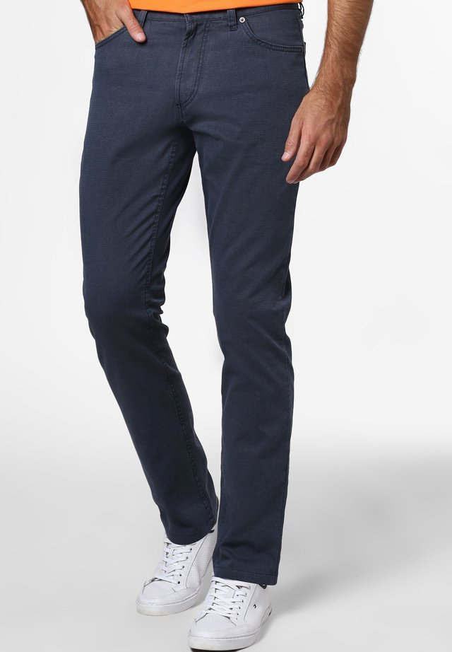 HOSE SPIETH - Trousers - marine