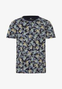 Nils Sundström - Print T-shirt - marine - 0