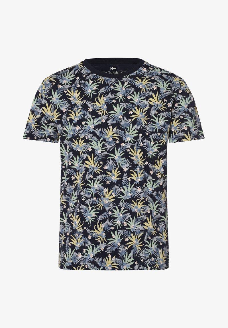 Nils Sundström - Print T-shirt - marine