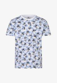 Nils Sundström - Print T-shirt - weiß - 0