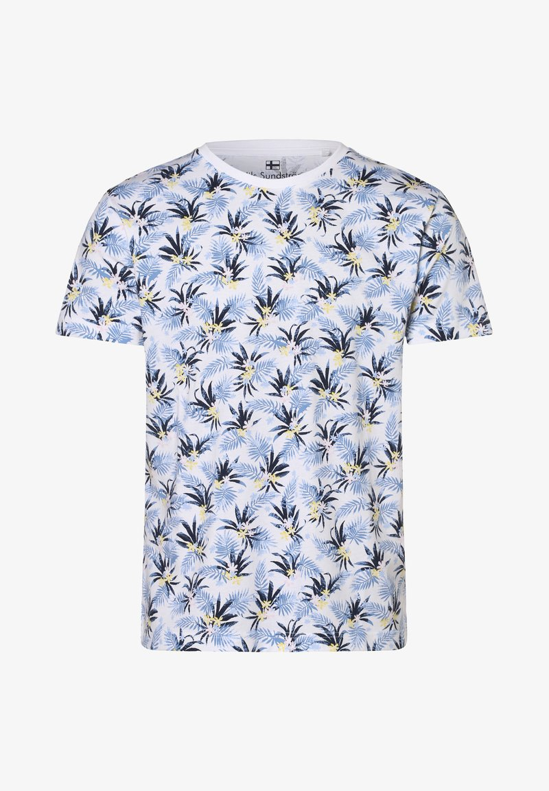 Nils Sundström - Print T-shirt - weiß