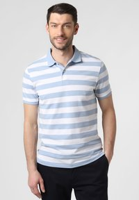 Nils Sundström - Polo shirt - light blue/white - 0
