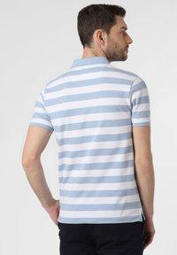 Nils Sundström - Polo shirt - light blue/white - 1