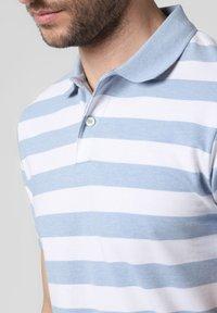 Nils Sundström - Polo shirt - light blue/white - 2