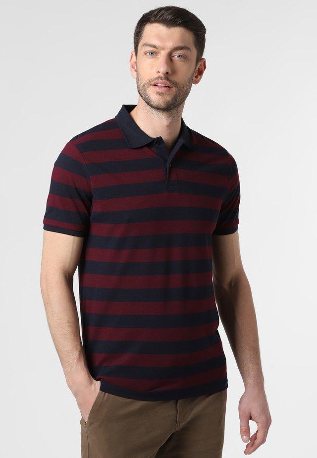 Polo shirt - marine/bordeaux