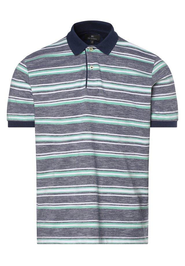 Polo shirt - grün/blau