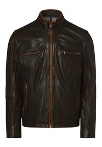Nils Sundström - Leather jacket - oliv - 1