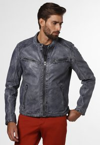 Nils Sundström - Leather jacket - grau - 0
