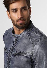 Nils Sundström - Leather jacket - grau - 2