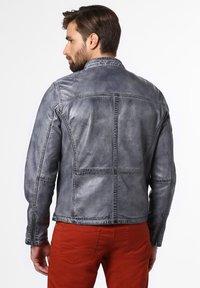 Nils Sundström - Leather jacket - grau - 1