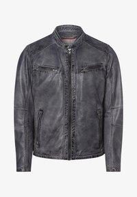 Nils Sundström - Leather jacket - grau - 3