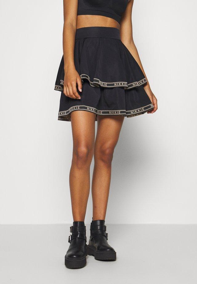NYNKE SKIRT - A-snit nederdel/ A-formede nederdele - black