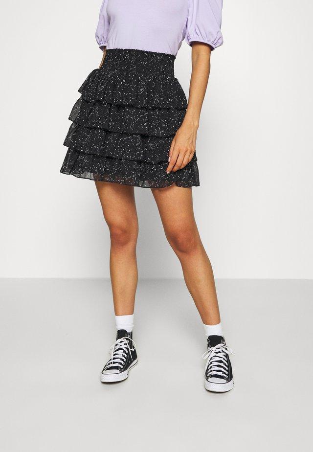 FYLENE SKIRT - A-snit nederdel/ A-formede nederdele - black