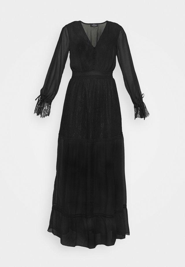 FLORA DRESS - Robe longue - black