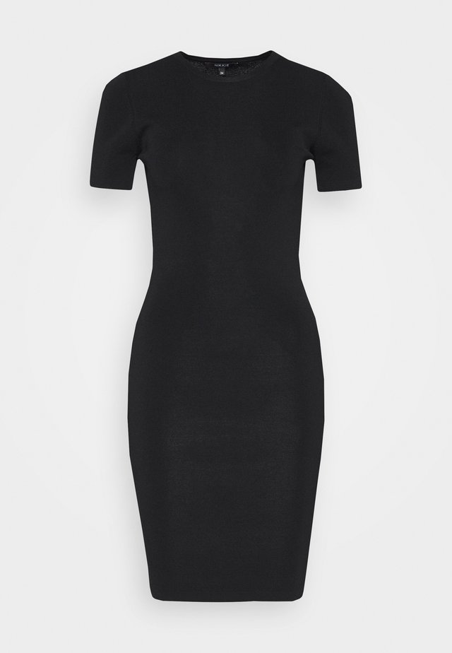 JOLIE DRESS - Etuikjole - black