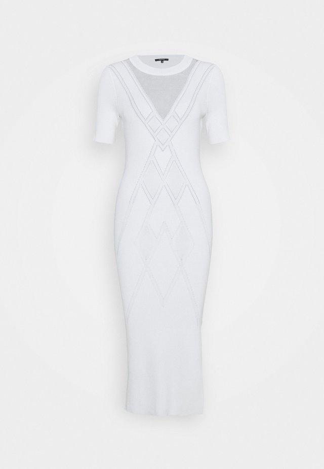 GIGI DRESS - Shift dress - star white