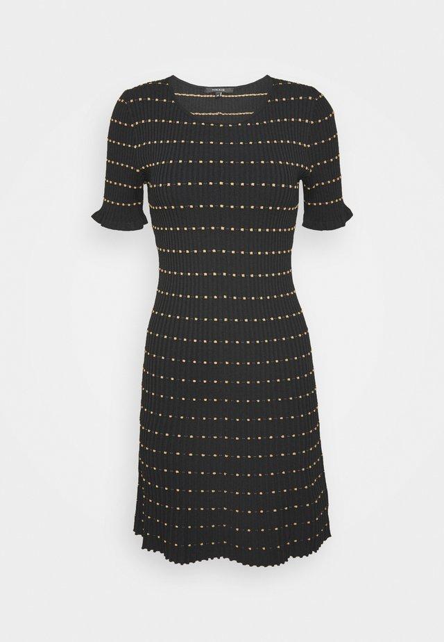 JOMY DRESS - Robe pull - black