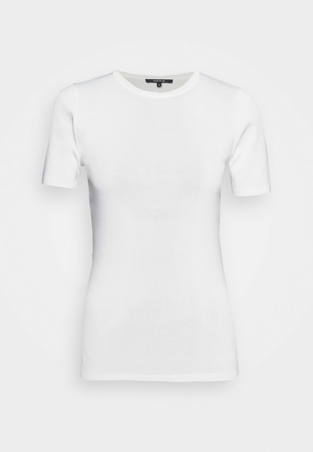 JOLIE - T-shirt imprimé - off white
