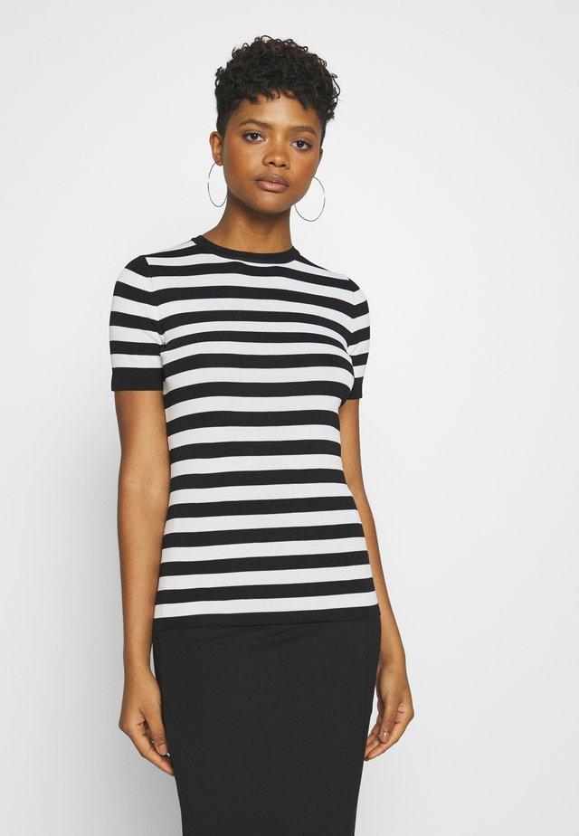 JOLIE - T-shirts print - black/offwhite