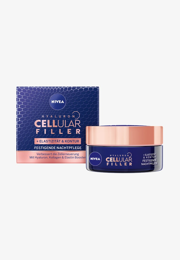 Nivea - HYALURON CELLULAR FILLER + ELASTICITY RESHAPE NIGHT CREAM - Nachtpflege - -