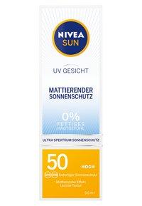 Nivea - UV FACE SHINE CONTROL CREAM - Zonnebrandcrème - - - 2