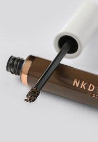 NKD/BTY - BROW GEL - Eyebrow gel - medium brown - 2