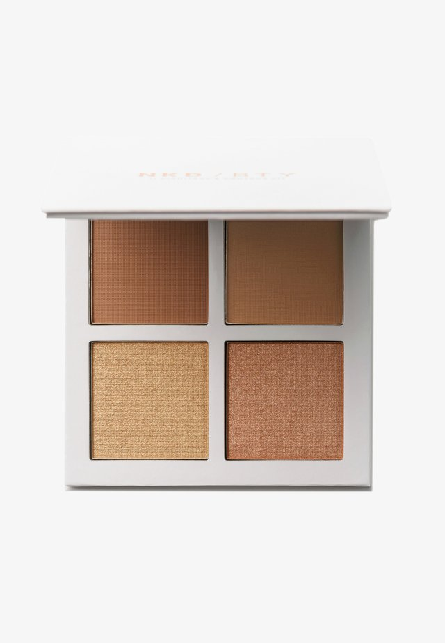 HIGHLIGHT & CONTOUR KIT - Makeup set - medium