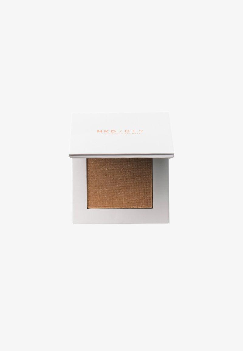 NKD/BTY - SHIMMERY BRONZER - Bronzer - shimmery bronz
