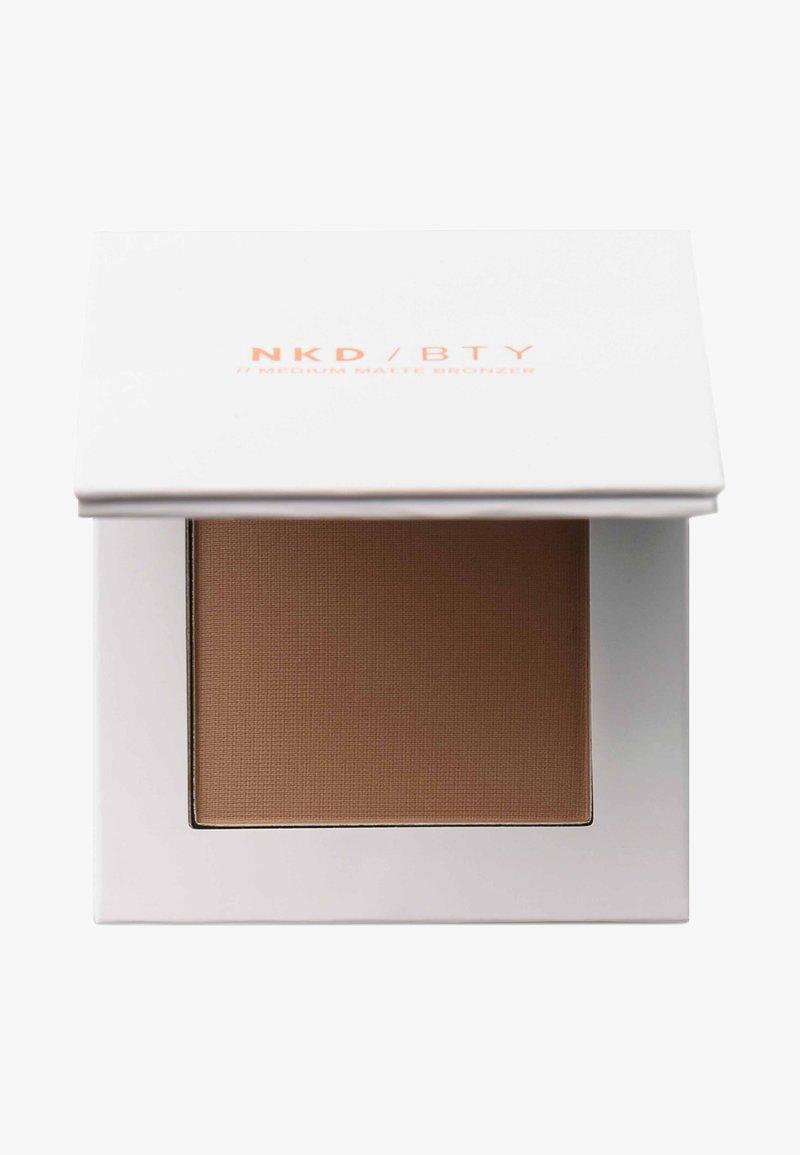 NKD/BTY - MEDIUM MATTE BRONZER - Bronzeur - bronze