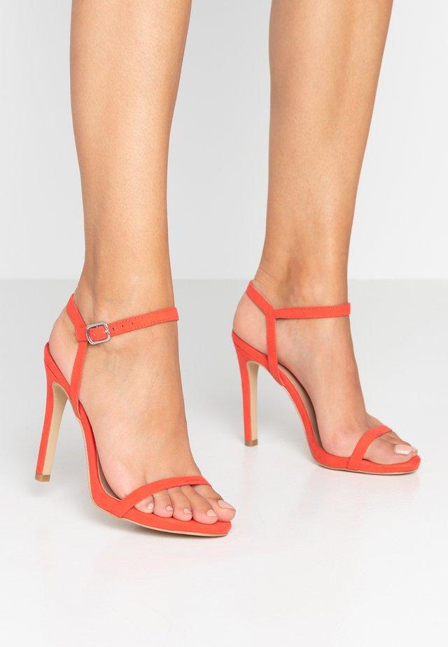 SANTORINI - Sandalen met hoge hak - pink
