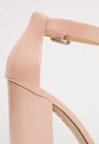 New Look - RICHES - Sandaler med høye hæler - oatmeal - 2