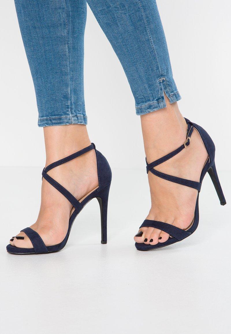 New Look - SARINA - Sandály na vysokém podpatku - navy