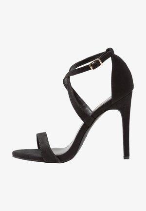 SARINA - Sandales à talons hauts - black
