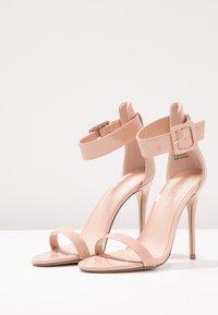 New Look - YIPEE  - Sandaler med høye hæler - oatmeal - 4