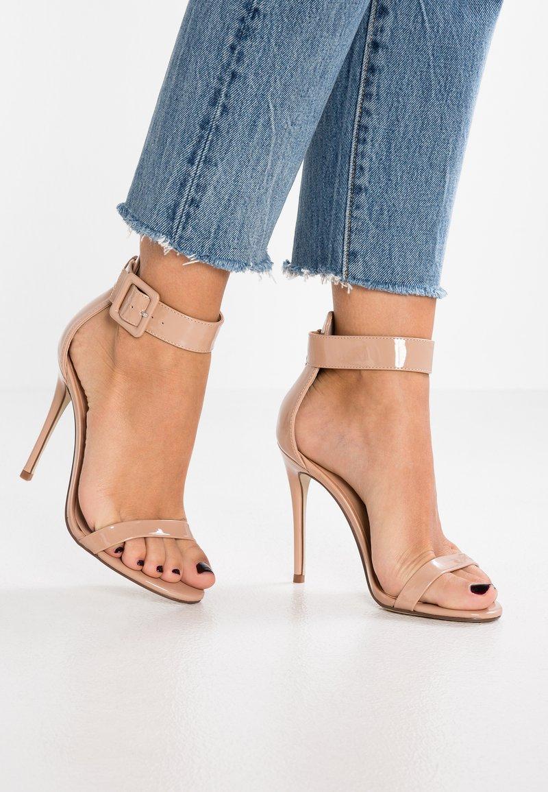 New Look - YIPEE  - Sandaler med høye hæler - oatmeal