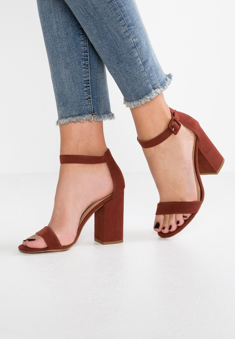New Look - RICHES - High heeled sandals - rust