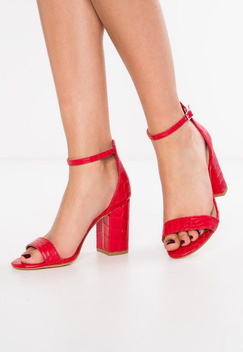 New Look - SROC - Sandales à talons hauts - bright red