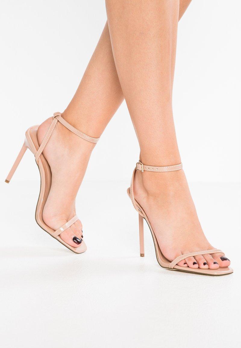 New Look - TOLANDO - Sandaler med høye hæler - oatmeal
